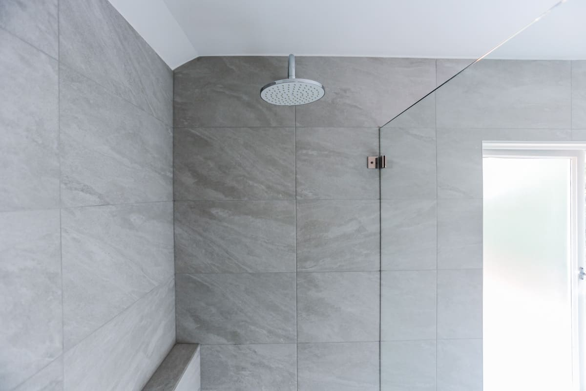 Bathroom-Renovation-Sydney-with-Grohe-Grohe-eurosmart-shower-mixer-and-Grohe-tempesta-200-shower-head