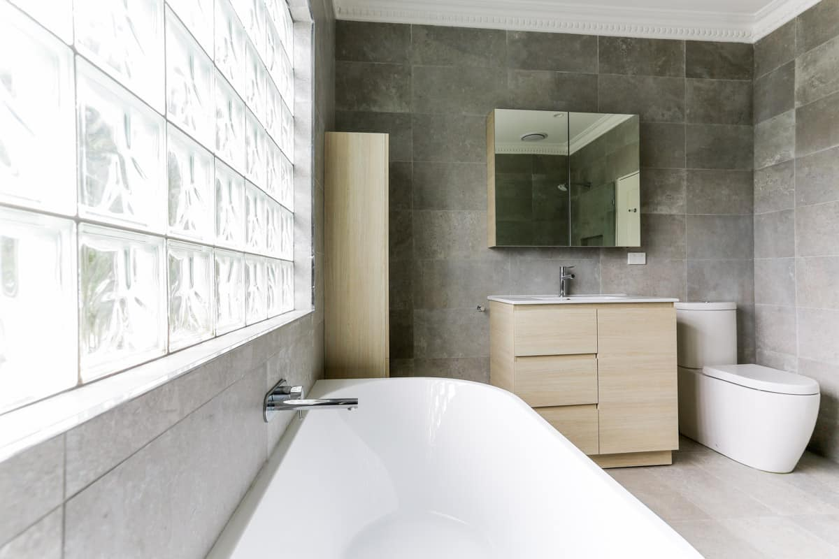 Full-bathroom-renovation-with-Caroma-Forma-Close-Coupled-Back-To-Wall-Rimless-Toilet-Suite