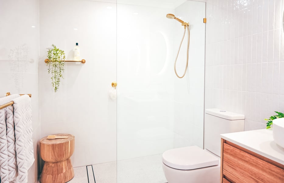 Complete-Bathroom-Renovation-in-Sydney-with-terrazo-floor-tiles-by-Nu-Trend-renovating-contractor