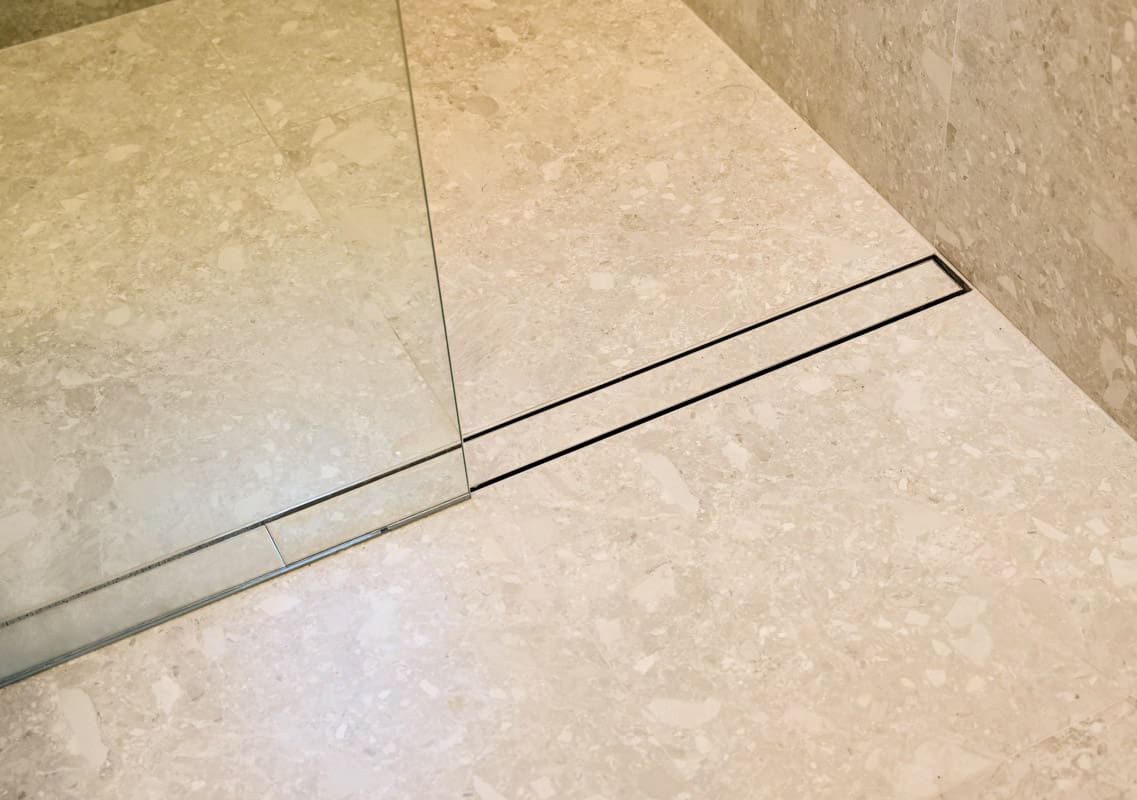 Luxury-Master-Bathroom-Renovator-in-Sydney-with-custom-steel-floor-drain