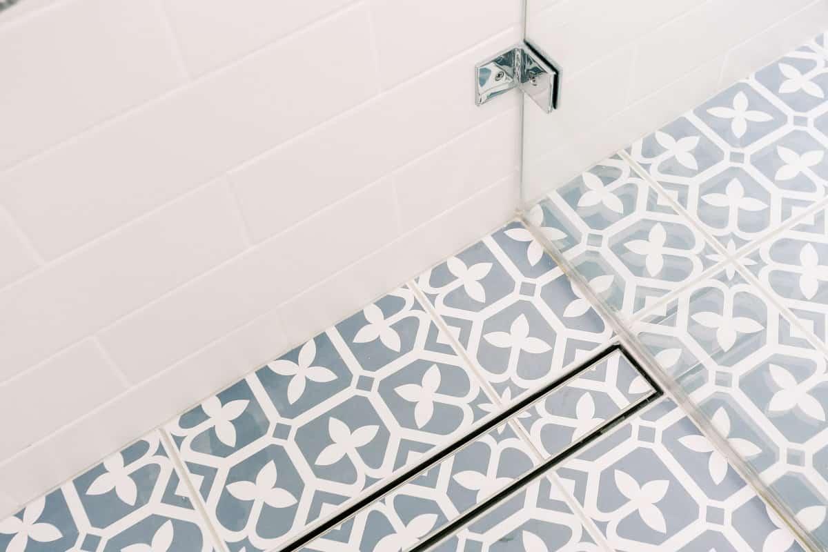 Master-Bathroom-Renovation-in-Sutherland-with-custom-floor-drain