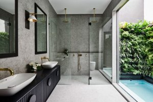 Nu-Trend-2021-Bathroom-Interior-Design-Trends-improving-functionality-for-pets-and-large-families