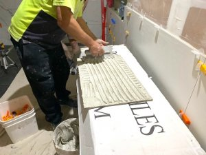 The best way to re-tile a bathroom renovation and Why-applying-the-right-amount-of-tile-adhesive-can-lead-to-better-quality-bathroom-tiling