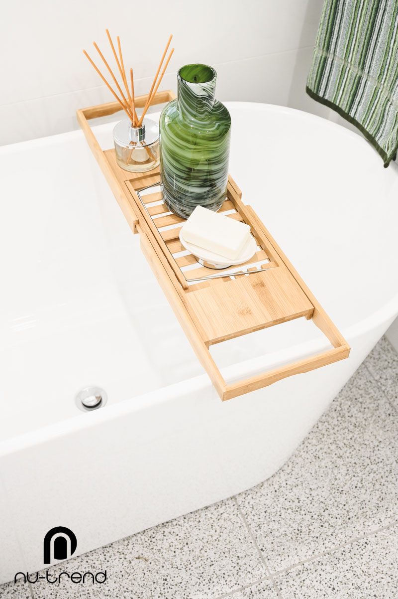 Nu Trend Sydney Renovation Company completed master bathroom with freestanding bath