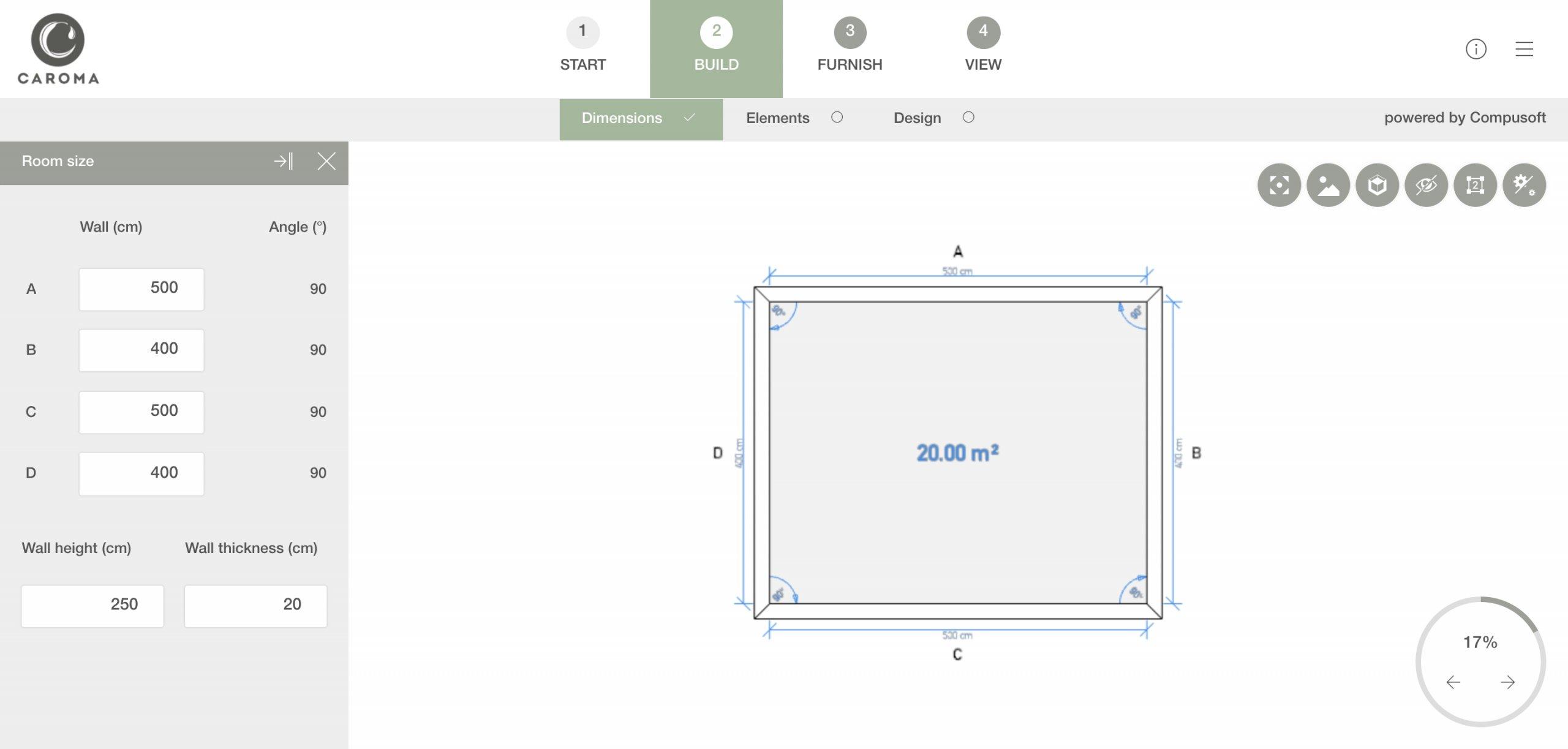 Free 2D and 3D bathroom floor planning online tool