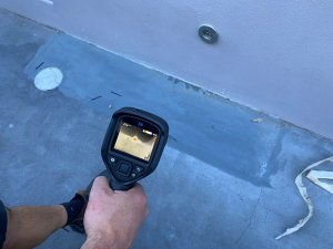 Nu Trend Hot Water Leak Detection Service in Sydney with thermal imaging equipment to find leaks quickly