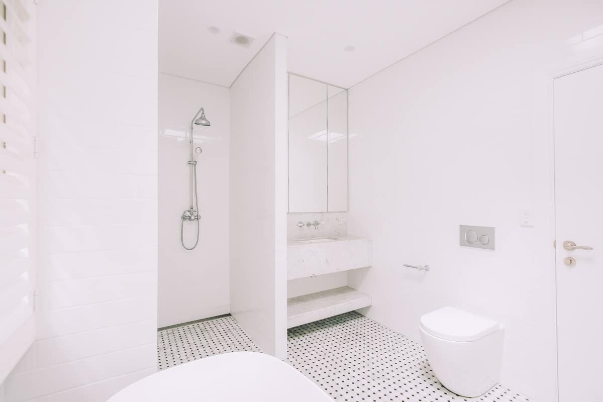 Master-Bathroom-Renovation-With-Freestanding-Bath-Tub-and-concealed-toilet
