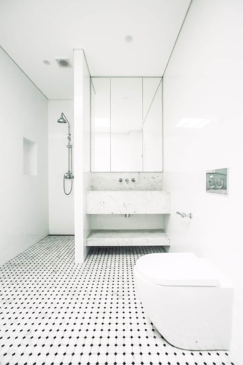 Master-Bathroom-Renovation-With-Freestanding-Bath-Tub-and-wall-concealed-toilet-cistern