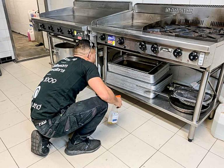 Commercial Plumbing Gas Line for Bondi Meal Prep