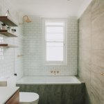 Luxury Shower Renovation With A Bath Tub by Nu-Trend renovation company in Sydney