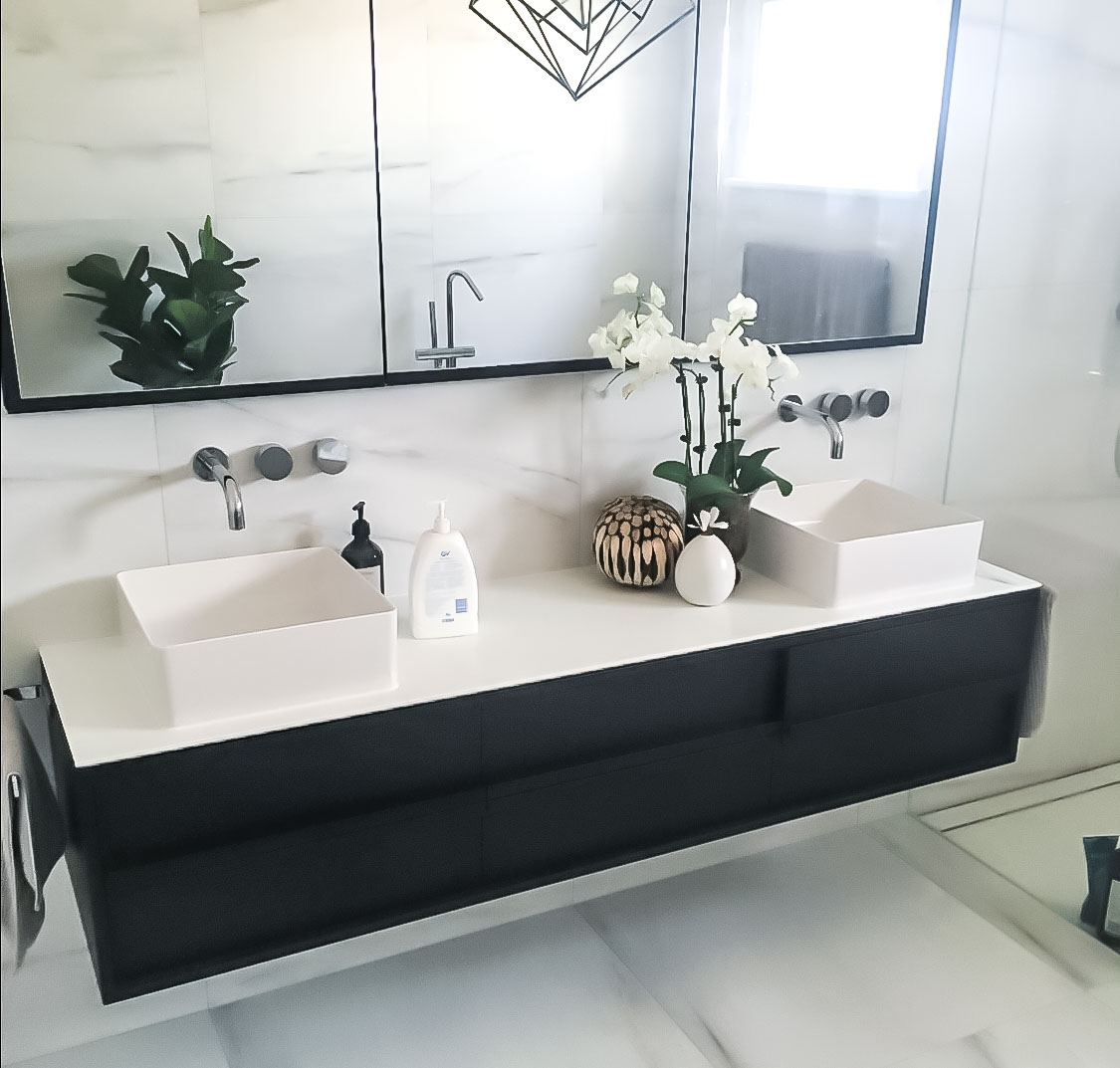 Nu Trend Bathroom Renovations on the North Shore completed project with EZY PROJECTS