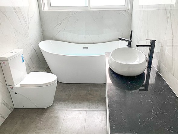 Sydney Bathroom Domestic Plumber in Peakhurst from Nu-Trend to complete a house construction-22