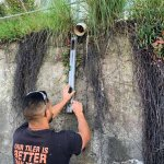 Stormwater drainage repairs by a domestic plumber